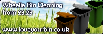 Love Your Bin | Wheelie Bin Cleaning Services in Hatfield, Welwyn Garden City, Welwyn, Saint Albans, Harpenden, Redbourn, Wheathampstead and Surrounding Areas...